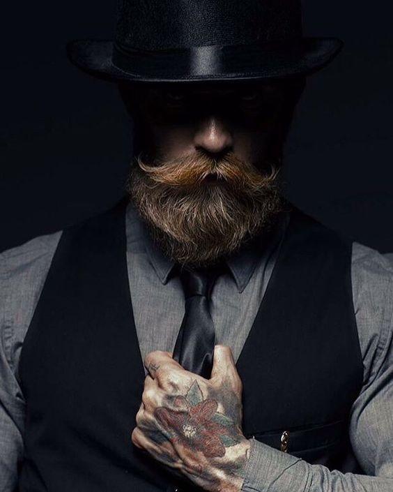 Primogen Cade Wilkes Brujah 2 Hair And Beard Styles Beard No Mustache Beard Styles For Men