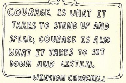 Courage - Churchill