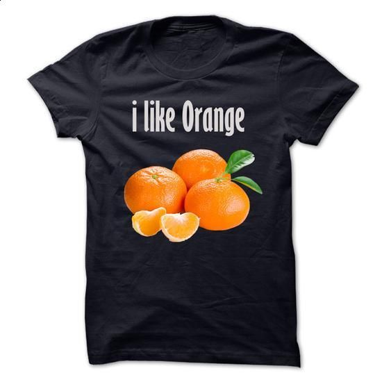 I love organge - cool t shirts #style #T-Shirts