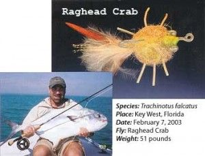 The Rag Head Crab Pattern: Angling for Permit Fish in High Style || Image Source: http://ic.pics.livejournal.com/brianeliason/68826396/3814/3814_300.jpg
