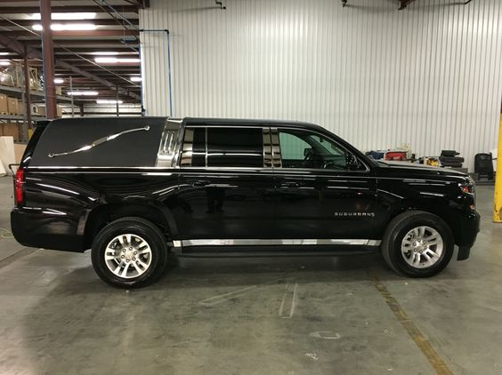 2016 Chevy Suburban Hearse With Full Conversion By K2