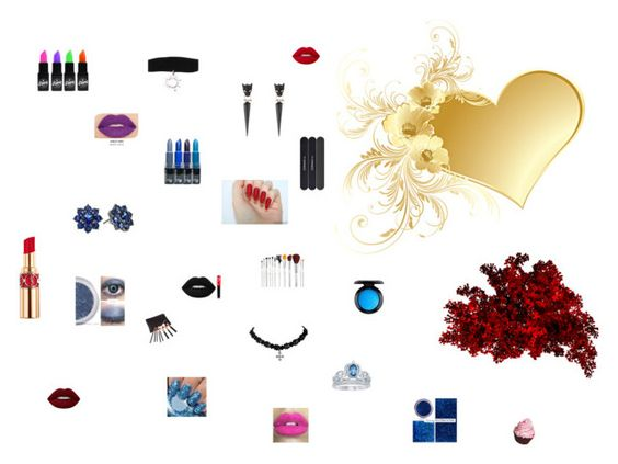 """""""Beauty"""" by molly2853 on Polyvore featuring Nina, Alexis Bittar, Disney, MAC Cosmetics, Lime Crime, Glitter Pink, Yves Saint Laurent and Smashbox"""