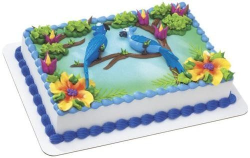Rio blu and jewel cake topper a birthday place http www - Jewel cake decorations ...