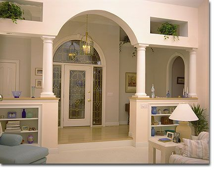 foyer wall opening vaulted - Yahoo Image Search Results ...