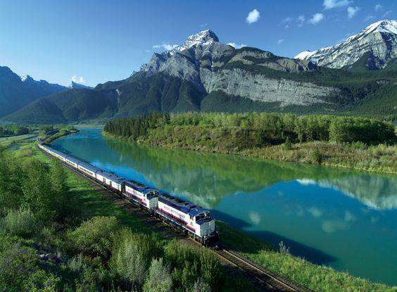 Canadá, Trilha das Montanhas Rochosas