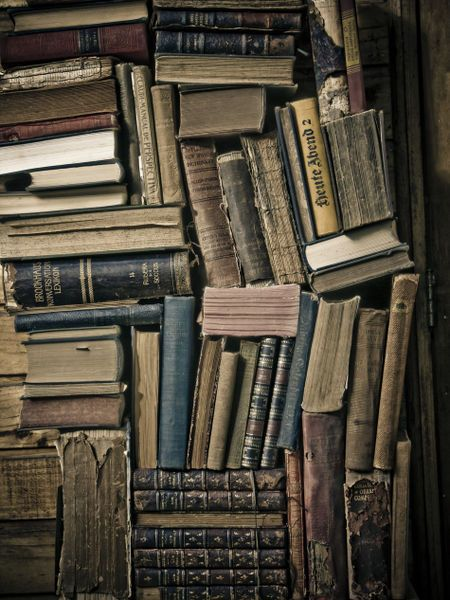 'Books' by Cristobal Ladron de Guevara