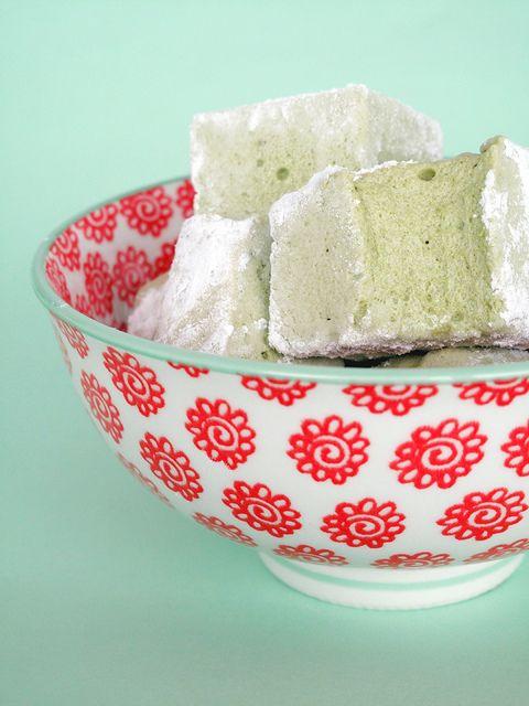 Matcha marshmallow. #matcha #marshmallow