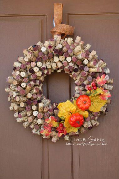 14 DIY Autumn Wreath Tutorials