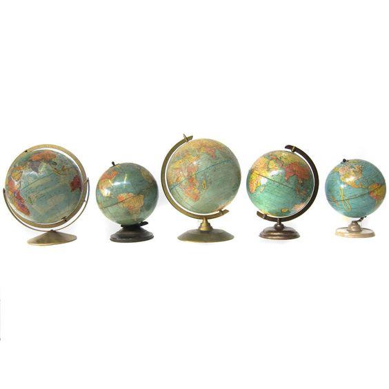 Fab.com | Library Globes Set Of 5