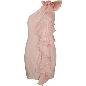 Chiffon Ruffle Dress - Shop for Chiffon Ruffle Dress at Polyvore