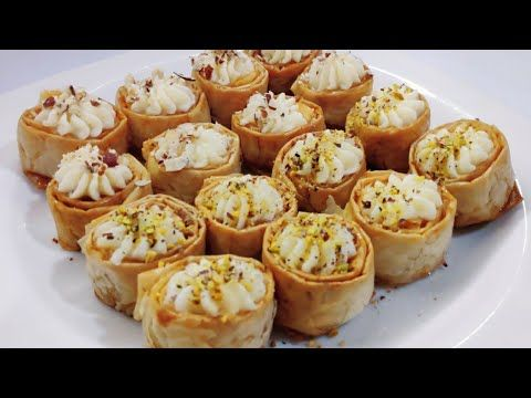 حلو فاخر كاسات الجلاش بكريمة السميد فعلا وهم لازم تجربوه أكلنا بالمصري Youtube Cooking Food Breakfast