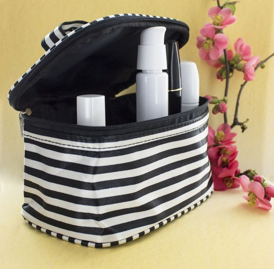 Fall in love all over again with our delightful Cosmetic Products and Makeup Bags.