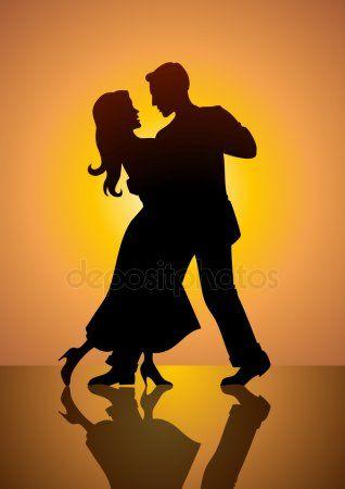 Dancing Couple Stock Vector Sponsored Couple Dancing Vector Stock Ad Dancing Couple Silhouette Couple Dancing Dance Silhouette