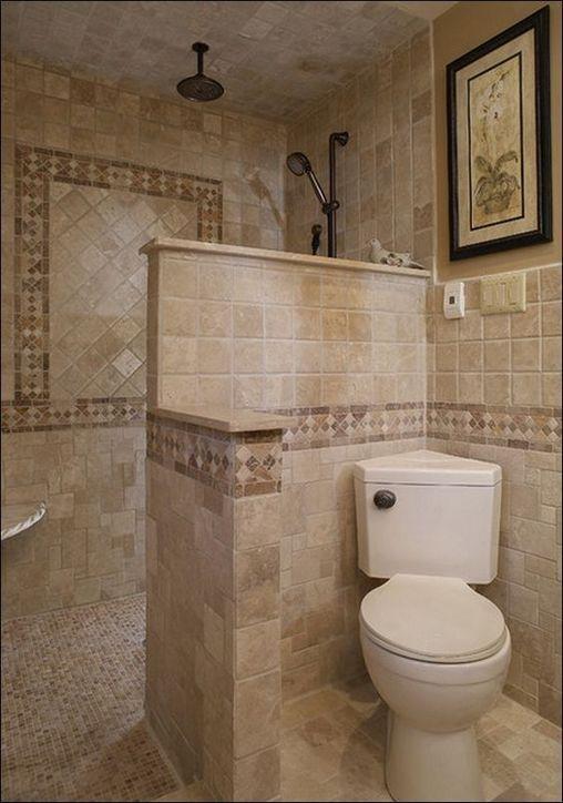 55 Top Doorless Showers Walk In Small Bathrooms Choices Zaradesignhomedecor Com Bathroom Remodel Shower Small Master Bathroom Shower Remodel