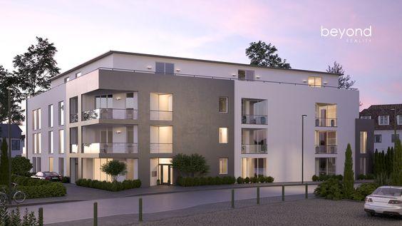 New Neubauwohnung im Bauprojekt NK in D sseldorf Niederkassel Exklusivvertrieb ber beyond REAL ESTATE Rendering von beyond REALITY Pinterest