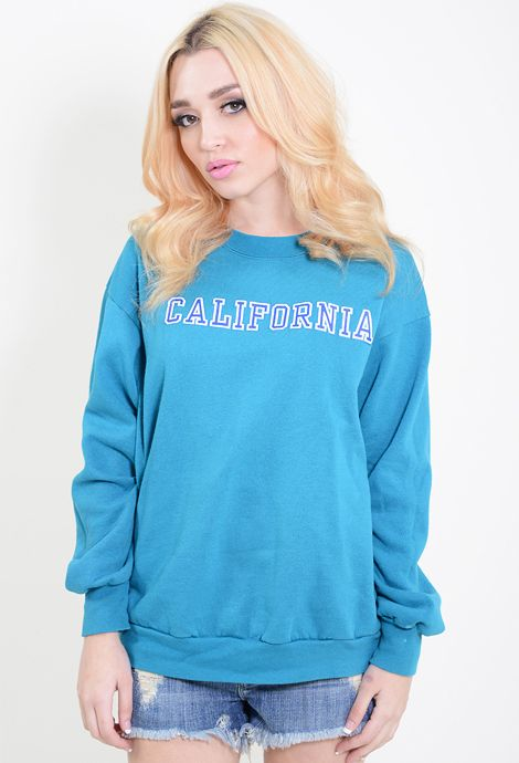 California sweatshirt.  http://dressedvintage.com/shop/clothing/tops/california-sweatshirt/
