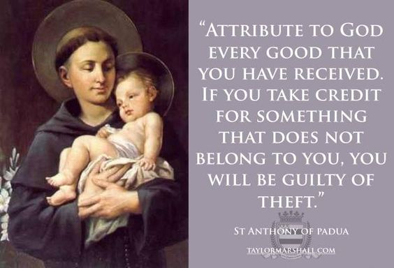 saint anthony of padua theology Saint anthony was born fernando martins in lisbon, portugal he was born into a wealthy family and by the age of fifteen asked to.