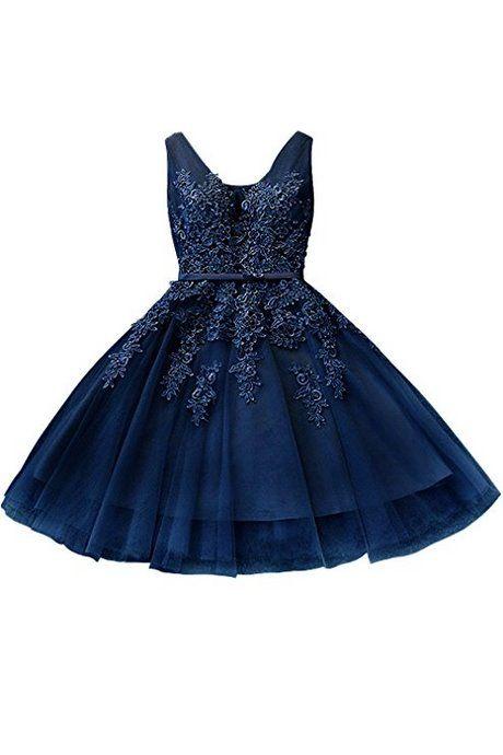 Ballkleid dunkelblau kurz  Ballkleid, Ballkleid kurz, Abendkleid