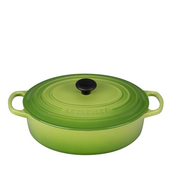 Le Creuset 3.5-Quart Signature Oval Wide Dutch Oven