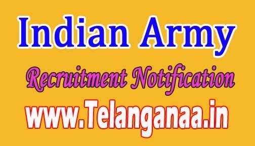 Indian Army Recruitment Notification 2016 ,govt jobs,army jobs,police jobs,all…