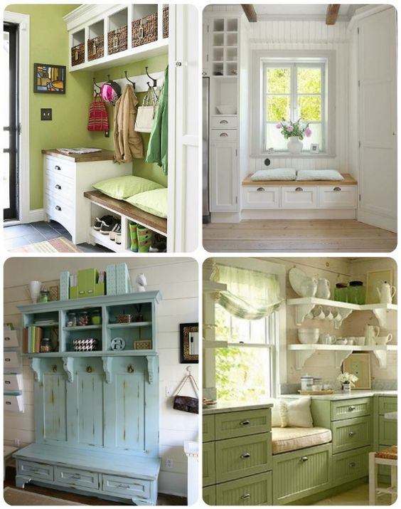 The House of Smiths - Home DIY Blog - Interior Decorating Blog - Decorating on a Budget Blog- I believe I will do this and hopefully by Christmas 2012 (entry closet)