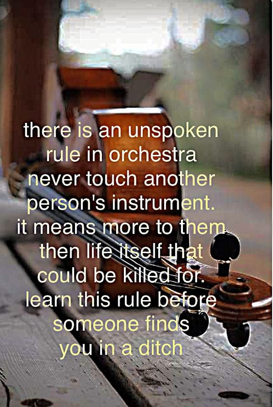 Completely true, I love my cello like it was my baby