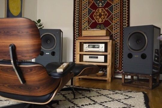 Urban Living In The Nw Hifi Room Sound Room Audio Room