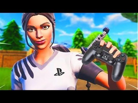 Skin Fortnite Qui Tient Une Manette Png Best Poised Playmaker On Ps4 Youtube Di 2020