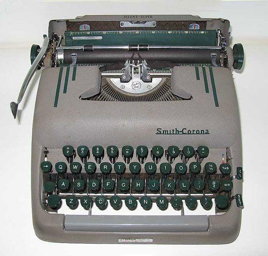 Typewriter, vintage
