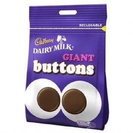 British Cadbury's Giant Milk Chocolate Buttons