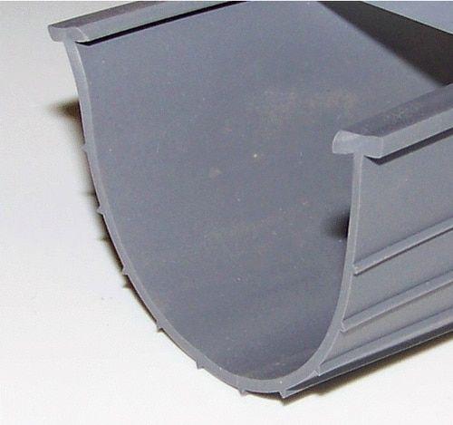 4 W Vinyl Replacement Bottom Seal T End Black Or Grey 200 Roll In 2020 Garage Door Bottom Seal Garage Floor Plans Vinyl