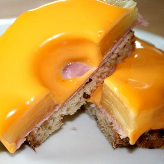 Toast Hawai mit Meisterbäckers Brot! Saftig und lecker!