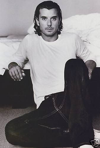 Gavin Rossdale. Once upon a time I crushed pretty hard on him. ;) English accents are sexy.