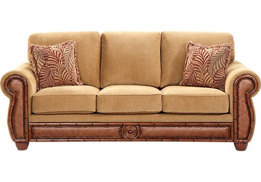 Best Cindy Crawford Home Key West Sofa Game Room New House 400 x 300