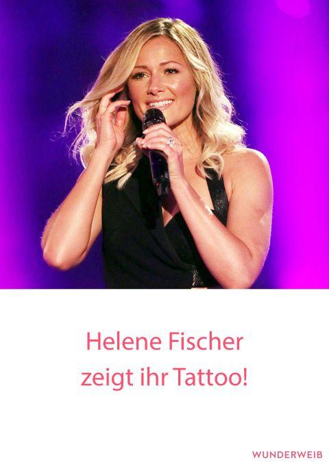 Helene Fischer Zeigt Tattoo Florian Silbereisen Fischer Tattoo Silbereisen
