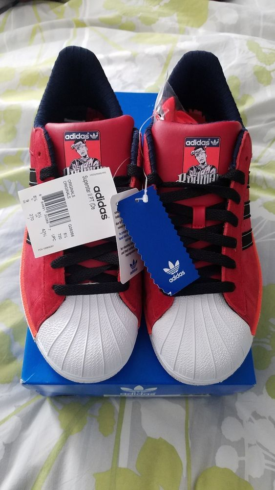 Tranvía flor Consentimiento  Adidas Superstar 2 PT (Def Jam) Redman Limited Edition New with Tags  Deadstock | Best mens fashion, Athletic shoes, Mens fashion