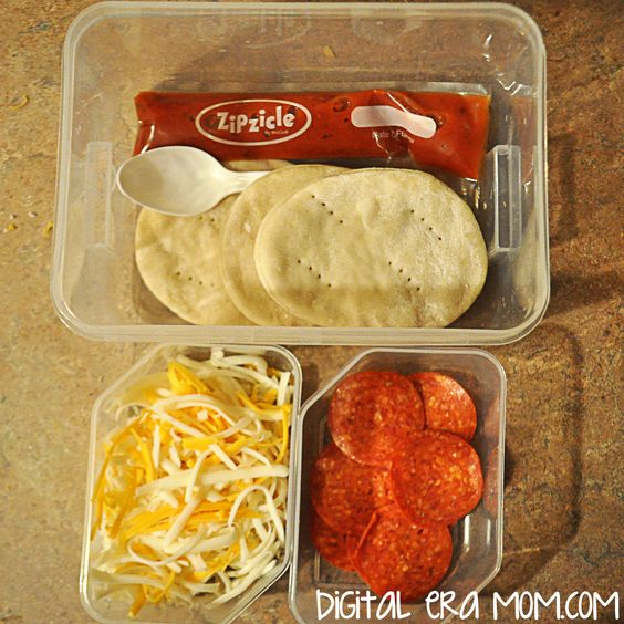 Perfect Pizza Crust and How To Make A Homemade Pizza Lunchable Your Kids Will Love - Mama Plus One