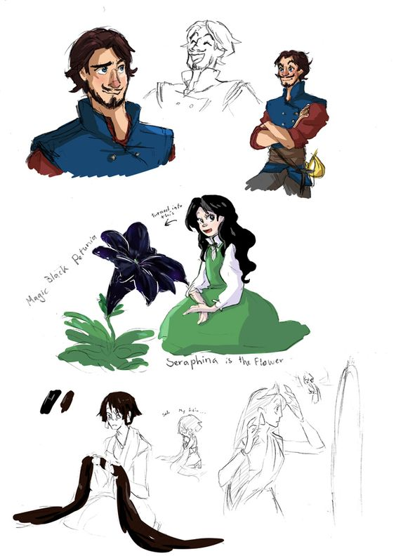 rise of the guardians x tangled fusionart pg 4 flynn