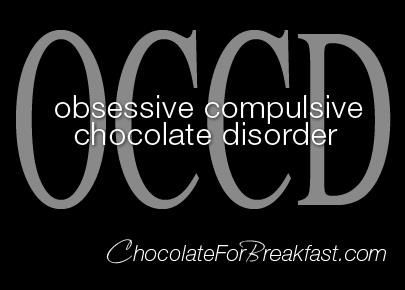 I'm pretty sure I've come down with a bad case of OCCD!: