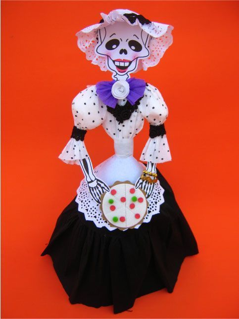 Ideas Para Vestir A Tu Calavera Día De Muertos Catrinas