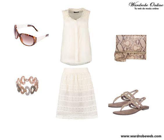 Buenos días!! Fresquita propuesta para hoy chic@s!! http://wardrobeweb.com/wardrobe-freshness-white/ Feliz semana!! muaa #moda #fashion #outfit