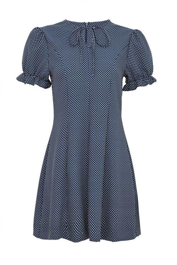 De 'Elsie' jurk van Alexa Chung voor Marks & Spencer.