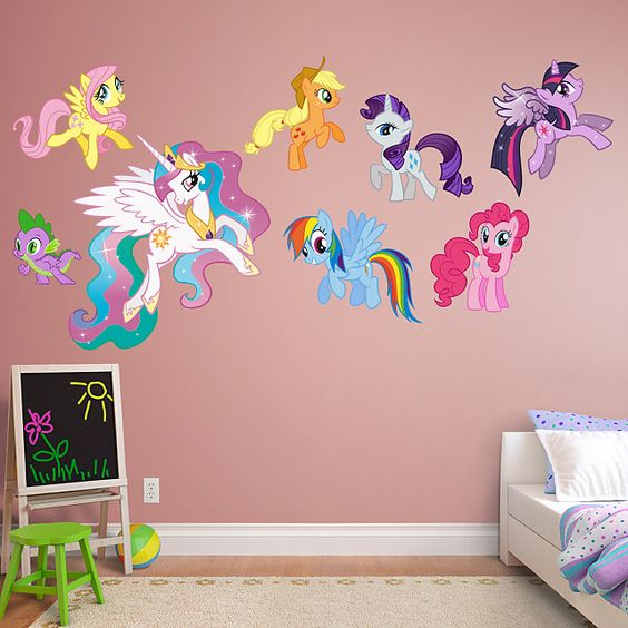 my little pony collection kid decor my little pony collection and