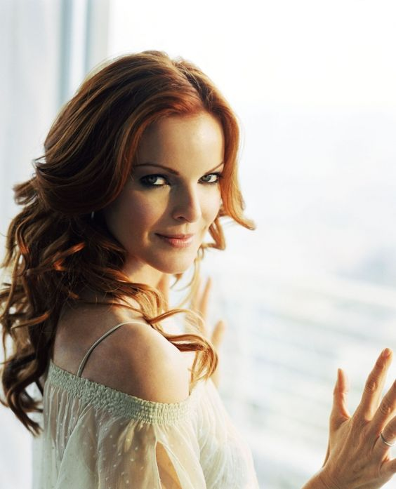 ✕ The lovely Marcia Cross / #style #actress #beauty