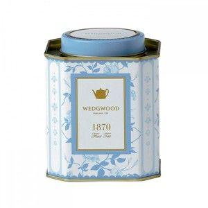 Wedgwood Taste of History 1870 Golden Rose Tea Caddy - 100g