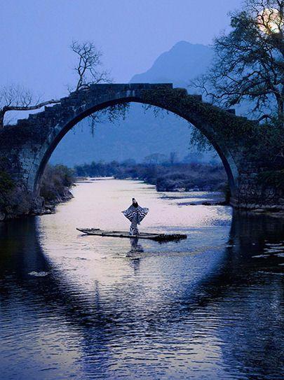 Japanese.: Bridge Japan, Magnificent Photo, Human Eye, Beautiful Place, Bridge Reflection