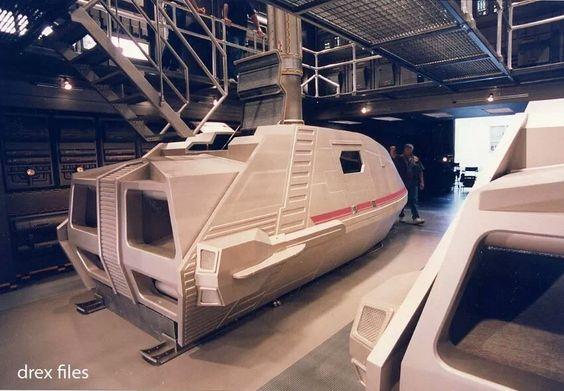 NX shuttle pods