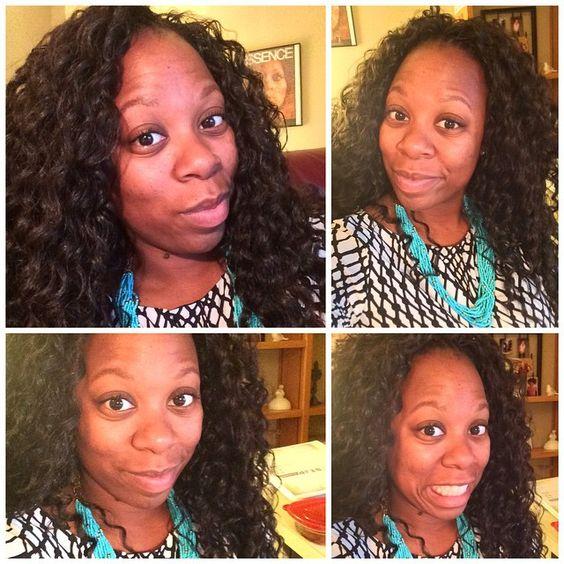 I'm starting to like this new hair!!! #bighairdontcare #deeptwist #gogocurl #crochetbraids #summerhair