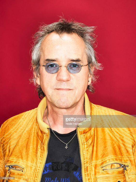 Stuart Wood of the pop band the Bay City Rollers are photographed for the for Daily Mail on September 24, 2015 in London, England.