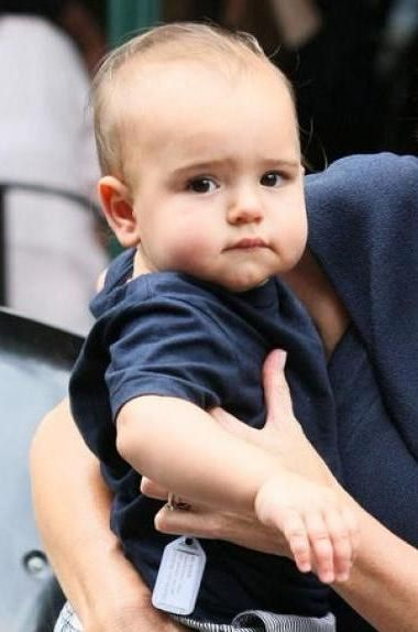 Young Flynn Bloom, so cute... -but with Miranda Kerr and Orlando Bloom as parents, what else could you expect?